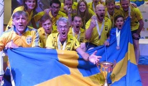 Tre svenska silvermedaljer i VM i Sankt Petersburg