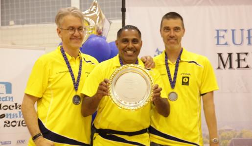 EM 2016: Tre medaljer i veteranklasserna