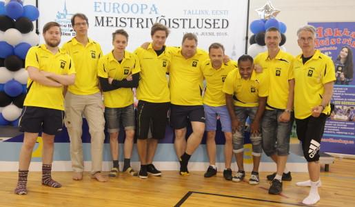 EM 2016: Svenska laget utanför pallen i lagtävlingen