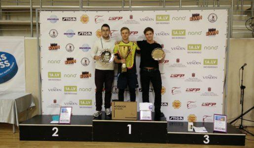 Oscar trea i Riga Cup!