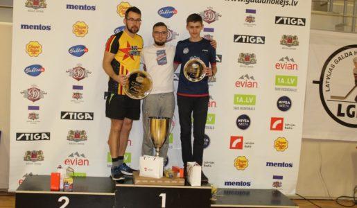 Arseniy Stolyarov slog Edgars Caics i finalen av Riga Cup