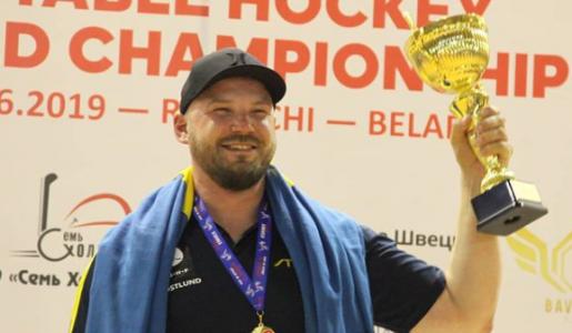 Inför 10:e Världsmästerskapet på raken – Peter Östlund